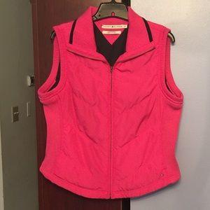 Women's Pink Sleeveless Vest